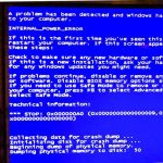 Windows Startup Errors